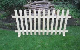 Timber Free Standing Picket Fence Panels Smooth Timber 6ft X 3ft Amazon Co Uk Diy Tools