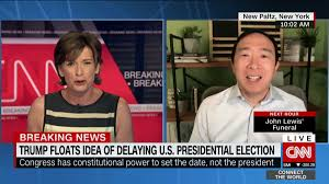 Yang: 'We need this election as soon as possible' - CNN Video