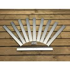 Selections 50cm Fence Trellis Topper Bracket Height Extensio