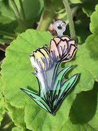 Tulip Necklace   Etsy