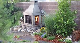 outdoor fireplace kit mirage stone