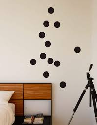 Large Polka Dot Wall Decals Polka Dot Vinyl Wall Decals Blik