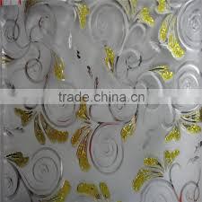 door glass etching designs of titanium