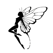 Diy Standing Fairy Vinyl Decal Fantasy Decal Laptop Decal Etsy Fairy Tattoo Designs Fairy Tattoo Fairy Drawings