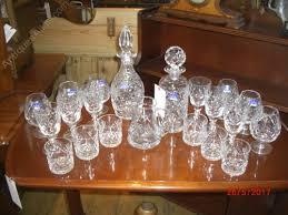 part royal doulton georgian wine suite