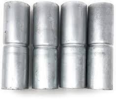 Business Industrial Fencing 4pc 1 5 8 Galvanized Chain Link Fence Posts For 4 Fence Post Pipe Pole Studio In Fine Fr