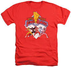 Amazon Com Power Rangers Retro T Shirt Stickers Clothing