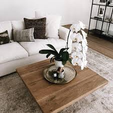minimal coffee table home style