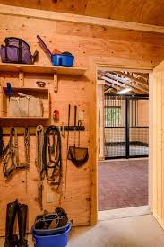two stall barn designed with the horse
