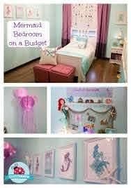 Mermaid Bedroom On A Budget Diy Mermaid Room Decor How To Video Mermaid Room Decor Mermaid Decor Bedroom Little Mermaid Bedroom