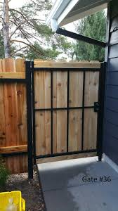 Automatic Metal Driveway Gate And Pedestrian Gates With Finger Print Android Apple App Door Lock Auto Manual Metal Gate Contractor Portland Oregon Metal Driveway Gate And Walk Thru Gate