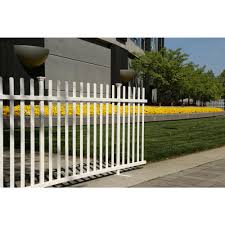 Zippity Outdoor Products 3 5 Ft X 7 6 Ft White Vinyl Lightweight Portable Picket Fence Panel Zp19026 Th In 2020 Picket Fence Panels Fence Panels Vinyl Picket Fence