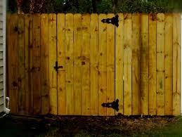 Wood Fence Wood Fence Estimate Cost
