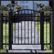 design garden gates steel iron fence