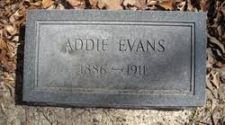Addie Evans (1886-1911) - Find A Grave Memorial