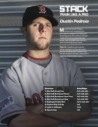 dustin pedroia s baseball power workout