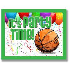 12 Pack Equipo De Baloncesto Invitaciones Para Fiestas Verde 10