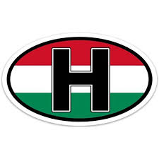 Amazon Com Backwoods Barnaby Hungary H Vinyl Decal Hungarian Self Adhesive Bumper Sticker For Cars Trucks And Laptops Clothing