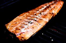 simply grilled wild sockeye salmon