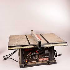 Craftsman Table Saw Ebth