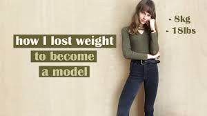 How I Lost Weight To Become A Model // My Story - YouTube