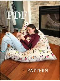 pattern meringue bean bag chair pdf
