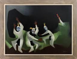 Arthur Jacobson, Dancing Koshares, 1951 | Matthews Gallery