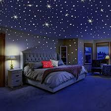 Dreamkraft Glow In The Dark Galaxy Of Stars With Moon Radium Wall Stickers 280 Stars And Moon Outer Space Bedroom Outer Space Bedroom Decor Kids Bedroom Decor
