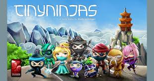 tiny ninjas board game boardgamegeek