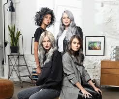 Modne Fryzury Wlosy W Siwym I Srebrnym Kolorze Trendy 2019