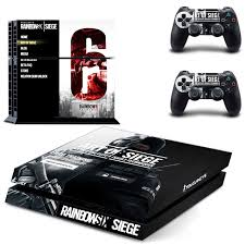 Rainbow Six Siege Ps4 Skin Sticker Decal Cover For Sony Ps4 Playstation 4 Console And 2 Controller Skins Consoleskins Co