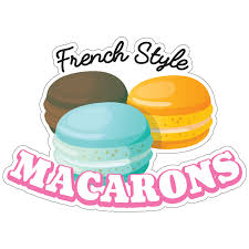 Macarons Decal Concession Stand Food Truck Sticker Ebay