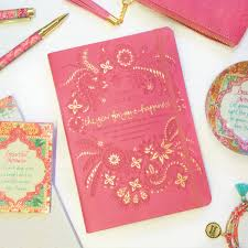 coral crush pink diary planner journal joy happiness
