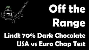 lindt 70 dark chocolate blind taste