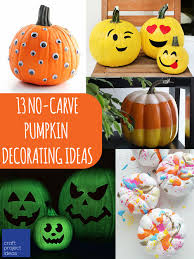 13 no carve pumpkin decorating ideas