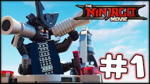 LEGO Ninjago The Movie - Videogame - Part 1 - Ninjago City! (Gameplay  Walkthrough HD) - YouTube