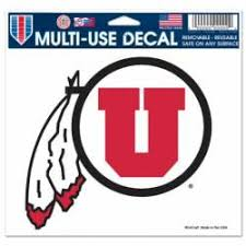 University Of Utah Stickers Decals Bumper Stickers