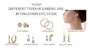 diffe types of earring and ing