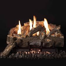 vent free weathered oak gas logs