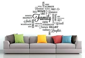 interior design decals lovable family quotes wall decals interior
