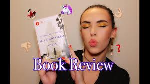 IL PRIGIONIERO DEL CIELO di Carlos Ruiz Zafón //BOOK REVIEW - YouTube