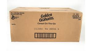 golden grahams cereal single serve on
