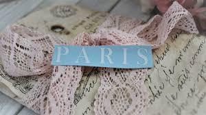 Paris France Quote Vinyl Decal French Vinyl Sticker Study Etsy