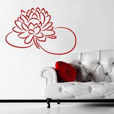 Wall Decal Flower Lotus Beauty Plant Longevity Luck Symbol Tibet India M111 Ebay