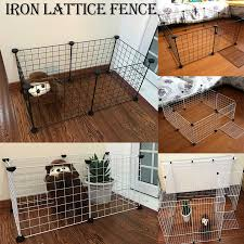 Dog Fences Pet Playpen Diy Animal Cat Crate Cave Multi Functional Sleeping Playing Kennel Rabbits Guinea Pig Cage Buy At The Price Of 23 12 In Aliexpress Com Imall Com
