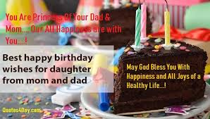 happy birthday wishes for daughter quotes messages