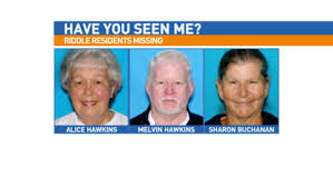 3 persons missing in Douglas County | KVAL