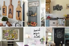 26 Elegant Kitchen Wall Decor Ideas Your Empty Walls Beg
