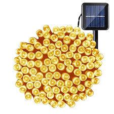 esky solar string lights 55ft 3 modes
