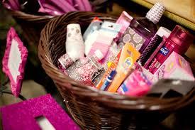 wedding bathroom basket checklist